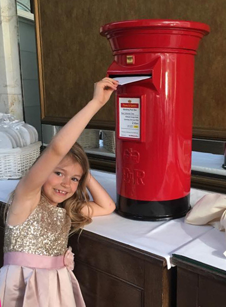 Wedding Postboxes are fun for all ages